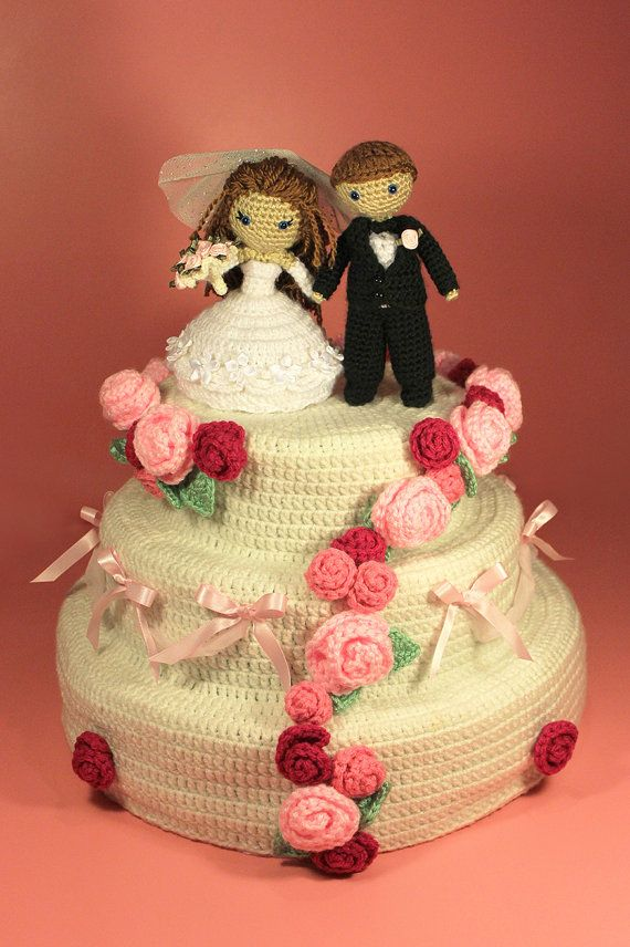 wedding cake dolls images 17 best images about crocheted amp groom patterns on 22540