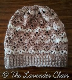 Vintage Slouch - Free Crochet Pattern - The Lavender Chair