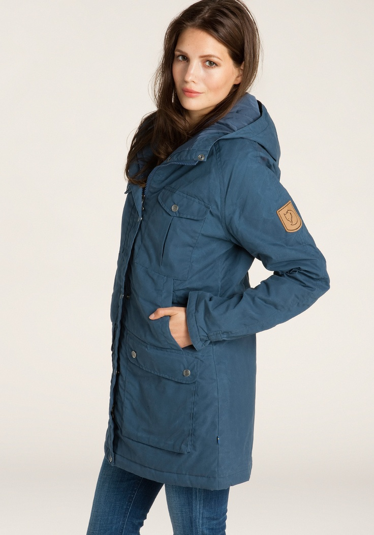 FJÄLLRÄVEN Greenland Parka uncle blue
