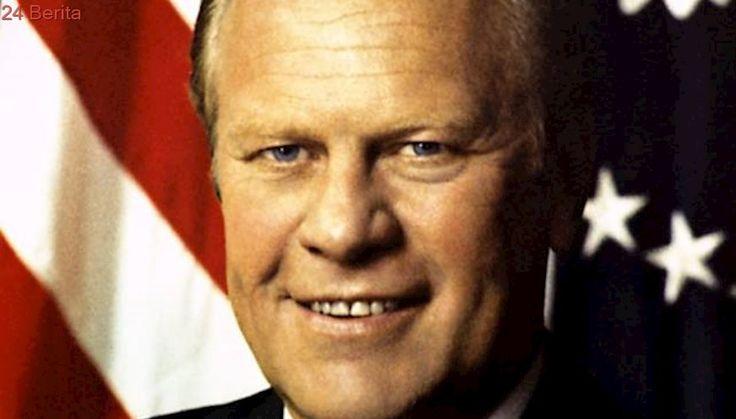 08-09-1974: Presiden Gerald Ford Umumkan Pengampunan Nixon
