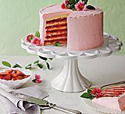 Strawberry-Lemonade Layer Cake Recipe | MyRecipes.com