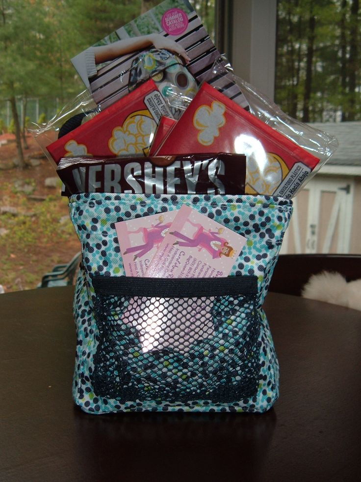 Thirty-One Little Carry-All Caddy.   MOVIE NIGHT- what a great gift idea for a work party gift exchange.