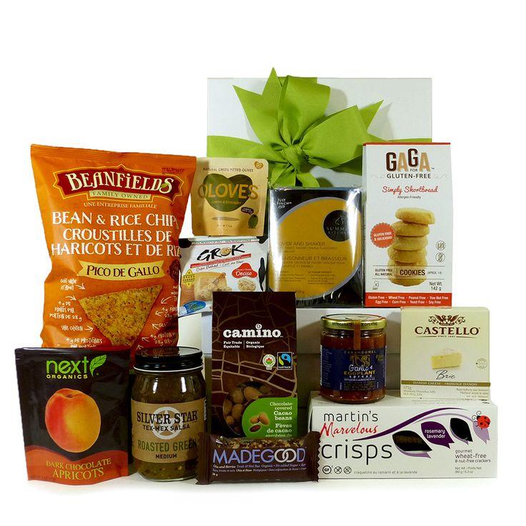 Sweet And Savoury Gluten-Free Gift Basket XL.