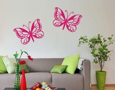 Wandtattoo Schmetterling No.SF418 Schmetterlingsduo Jetzt bestellen unter: https://moebel.ladendirekt.de/dekoration/wandtattoos/wandtattoos/?uid=6b15916b-f6d8-5490-80e6-609ee450ebbe&utm_source=pinterest&utm_medium=pin&utm_campaign=boards #heim #tattoos #dekoration