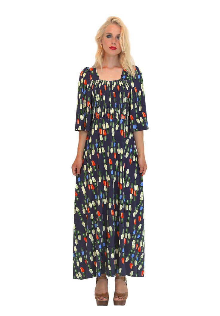 Aamu dress. Shop: http://shop.ivanahelsinki.com/collections/dresses/products/aamu