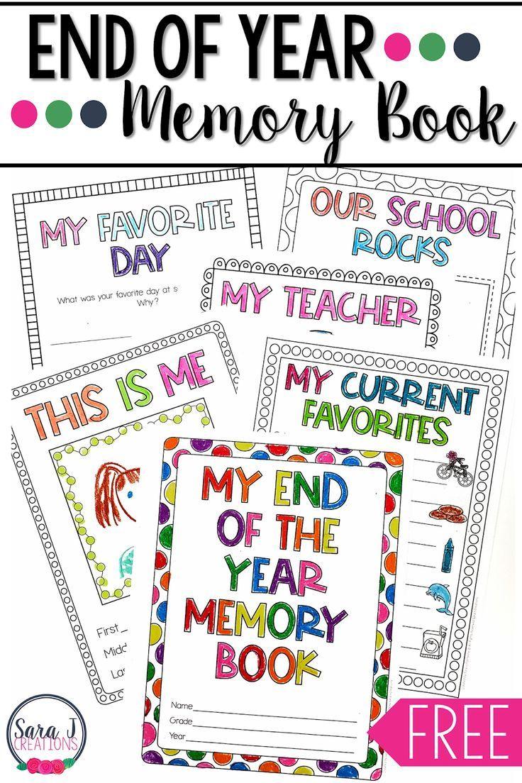 image regarding Preschool Memory Book Printable identified as Close of the Yr Memory E book Summer season Preschool memory reserve