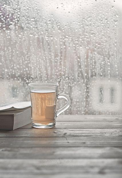 Rainy day comforts. #RefreshInspire. E x