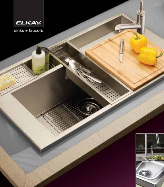 46 best cool kitchen sinks images on pinterest