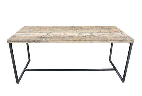 Deben Table | Carriage Pine Joined | Vintage Industrial Furniture | salvationfurniture.com | Warehouse Home Design Magazine