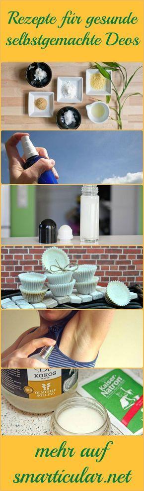 Herkömmliche Deodorants sind stark umstritten! Alternativen ohne Aluminium, Tri…