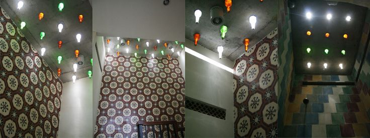 light bottles