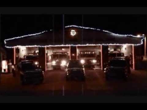Weihnachten bei der Feuerwehr ▶ Fire Truck Light Show