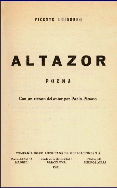 Huidobro, Vicente (1893-1948) Poeta chileno es uno de los grandes maestros de la poesía hispanoamericana contemporánea. Nacido en el sen...