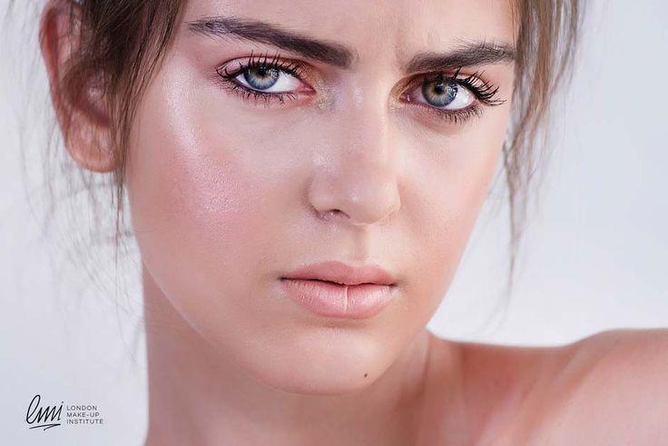Natural Makeup idea. LMI's student Work. #makeup #makeupartist #naturalmakeup