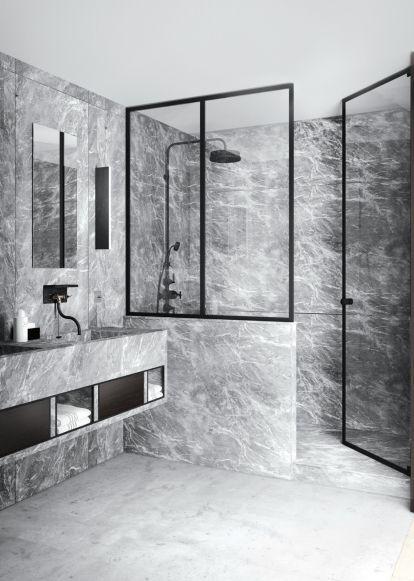 25 Best Grey Marble Bathroom Ideas On Pinterest