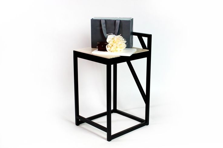 The Chair-steel/chair/welding/linear/lines/pattern/simple