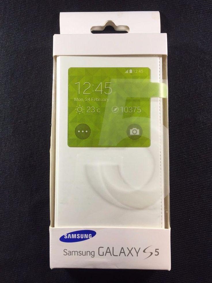 SAMSUNG Galaxy S5 S View Cover Folio Case | eBay