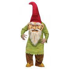 Big Head Evil Gnome Costume Halloween Fancy Dress