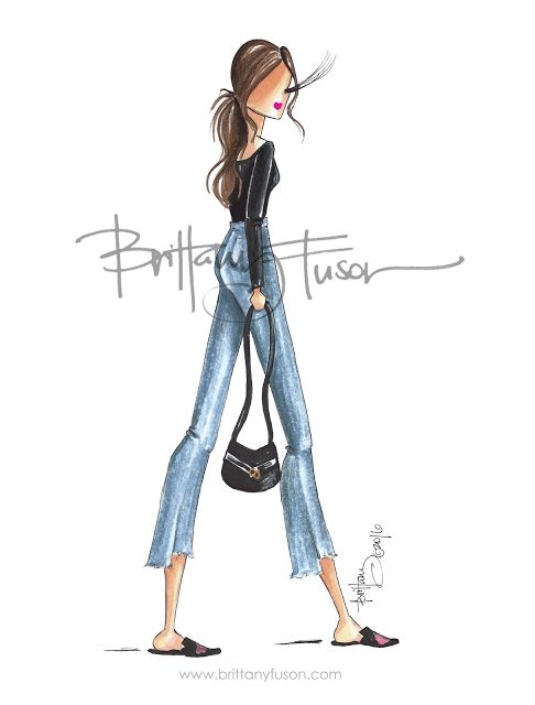 5 for Fall: Cropped Flares - Brittany Fuson