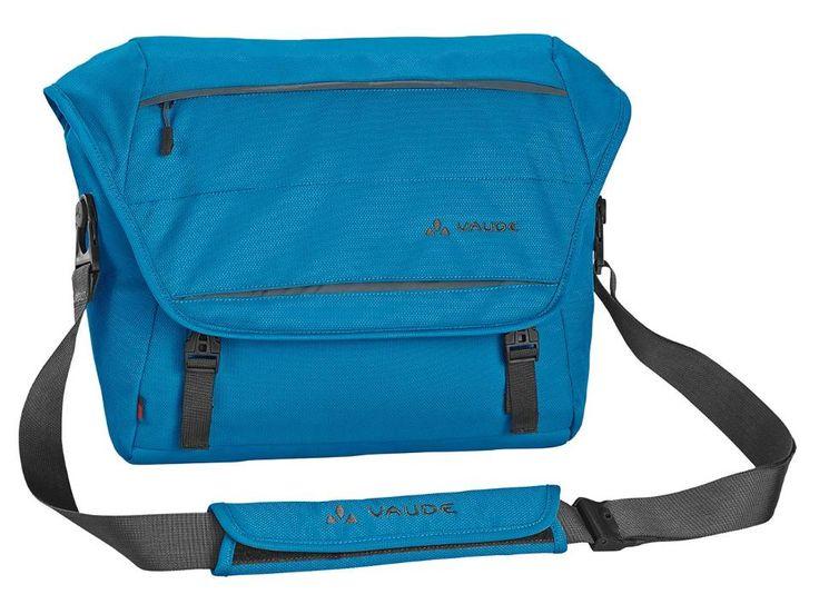 """VAUDE Umhängetasche """"Bunya M"""" aus Recycling-Polyester. In verschiedenen Farben erhältlich. Ideal für 13,3""""-Zoll Notebooks. Inklusive Regenhülle zum Schutz vor Regen. #Laptoptasche #NotebookTasche  #sustainability #ecological #bag"""