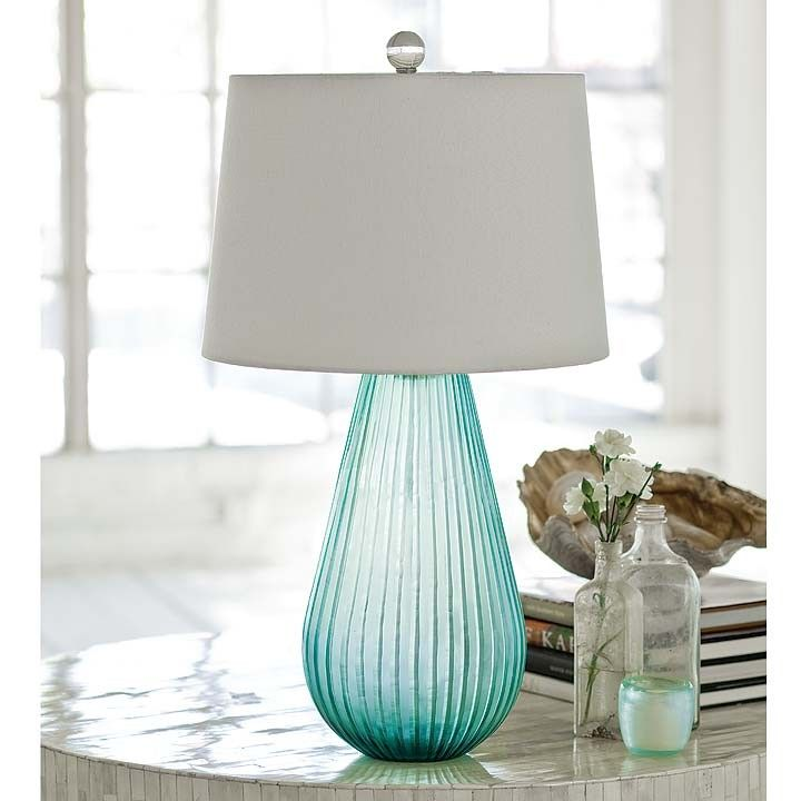 43 best bluegreen table lamps images on pinterest green table regina andrew spa art glass lamp aloadofball Choice Image