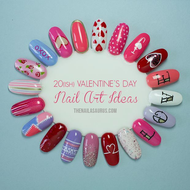 20(ish) Valentine's Day Nail Art Ideas