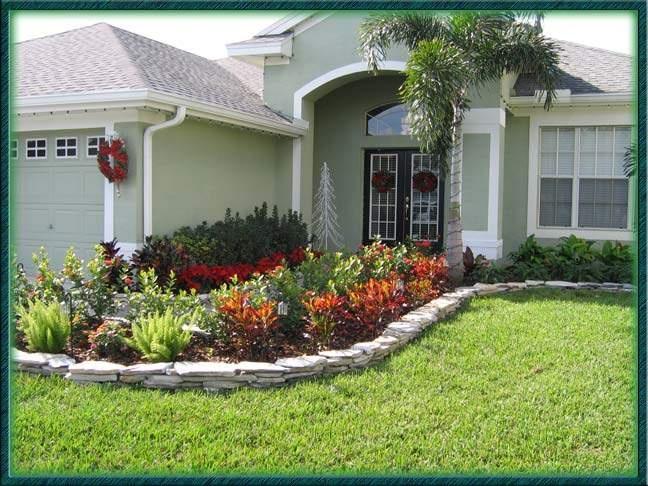 front yard of florida