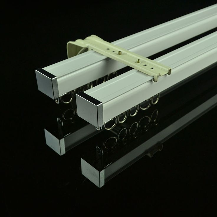 CHR7622 Wall Mounted Double Curtain Tracks and Rails