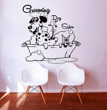 Pet Shop Business Wall Decals 24 Ideas #wall #pet (With ...