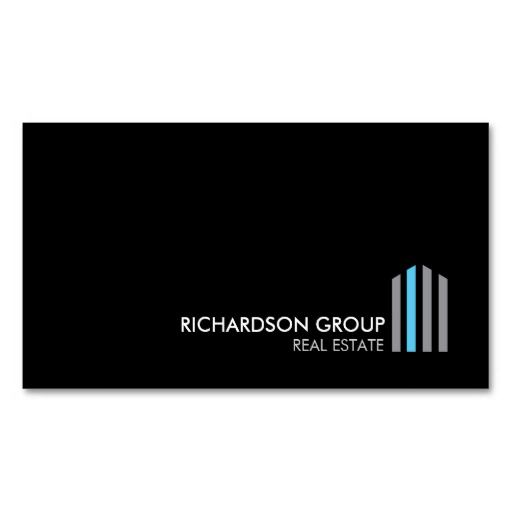 333 best construction business card templates images on pinterest professional modern real estate building logo and business card template for real estate developers realtors architects builders property managers and wajeb Images