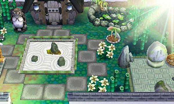 Animal Crossing Happy Home Designer Garden Of Zen Tranquility