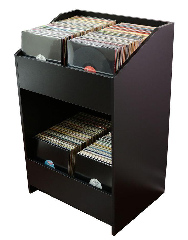LPBIN LP Storage Cabinet / Storage for your Vinyl Record Collection  | Music, Storage & Media Accessories | eBay!