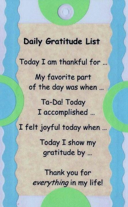 GRATITUDE~ Great prompts for a gratitude journal, or anyone's life journal! #DailyGratitudeList #gratitude                                                                                                                                                                                 More