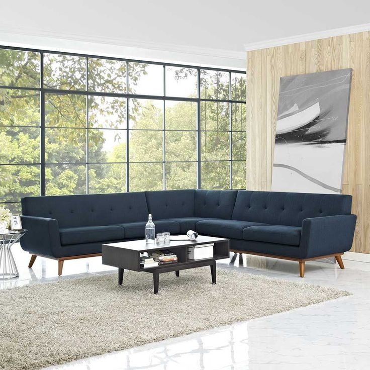 Modway Engage L-Shaped Sectional Sofa