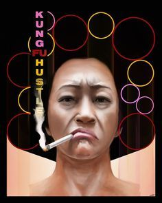 Kung Fu Hustle - movie poster I need to rewatch this very soon :)
