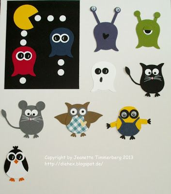 Love my Stampin' up! Owl punch