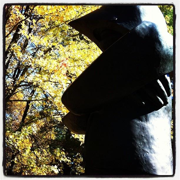 Sculpture Garden - October 2012 - McMichael Canadian Art Collection