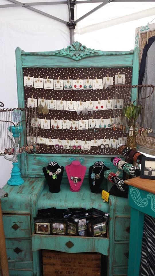 Bucking Mare Booth Display