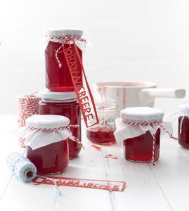 Rotes Johannisbeergelee - Rezepte