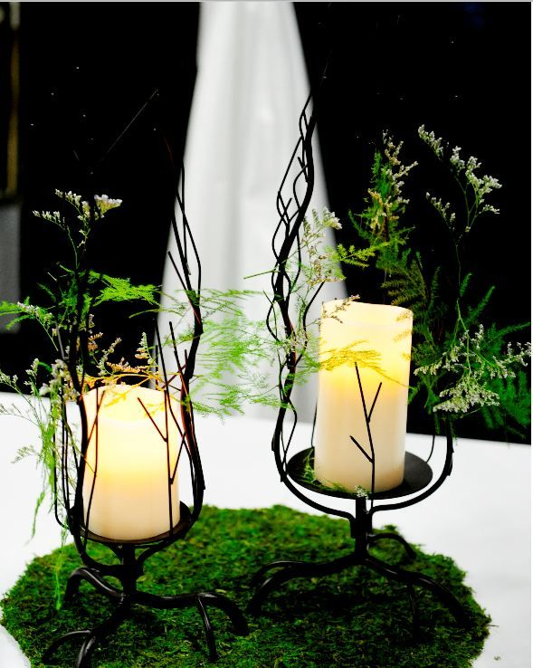 Enchanted Forest Theme Wedding