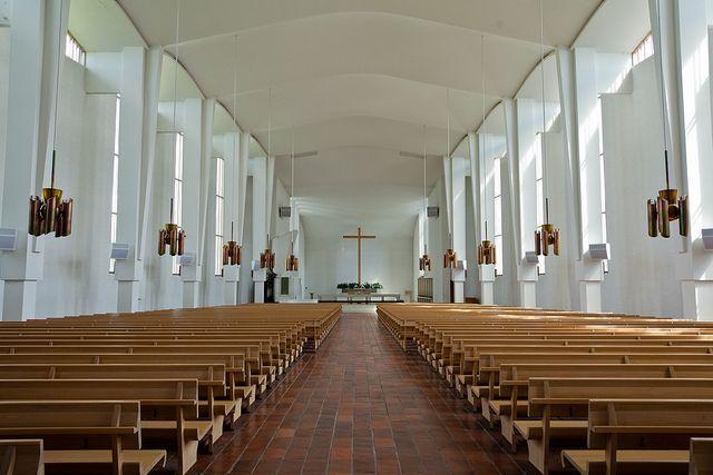 Lakeuden Risti, Seinäjoki, Finland - Cross of the Plains church, Finland, architect Alvar Aalto