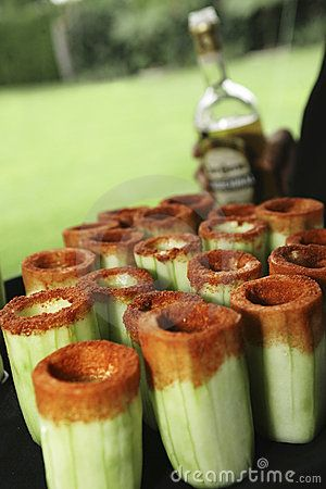 Cucumber Tequila make these for the party