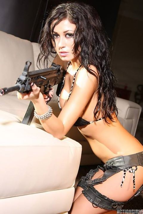 Latinas hot topless girls with guns femdom