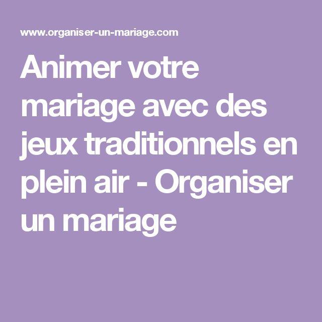 ... Plein Air sur Pinterest  Jeux De Mariage, Mariages En Plein Air