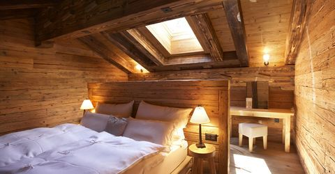 Zimmer mit Frühstück im Hotel Guarda Val in Lenzerheide in der Schweiz
