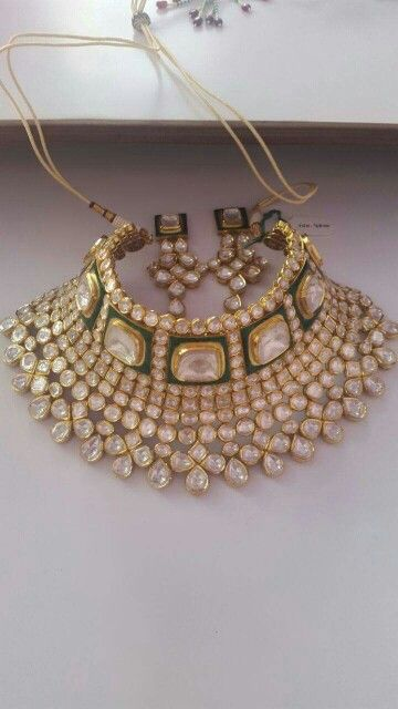 Uncut diamond choker Jewellery