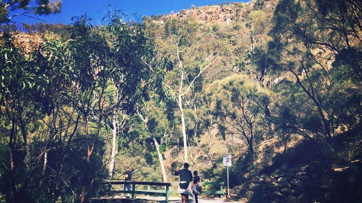 Morialta Falls hike trail