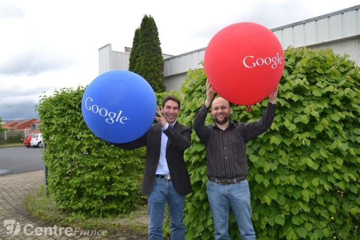 Google débarque en Auvergne du 10 au 14 Juin 2013