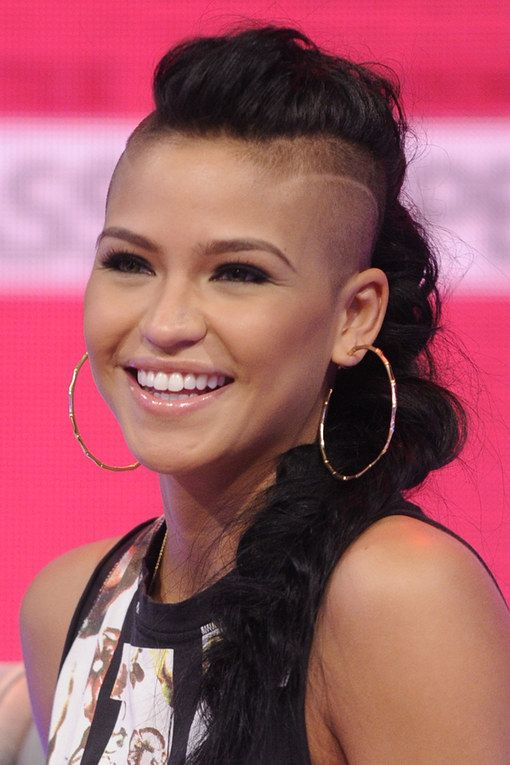Image Result For Girls With Undercut In Ponytail Hair Me