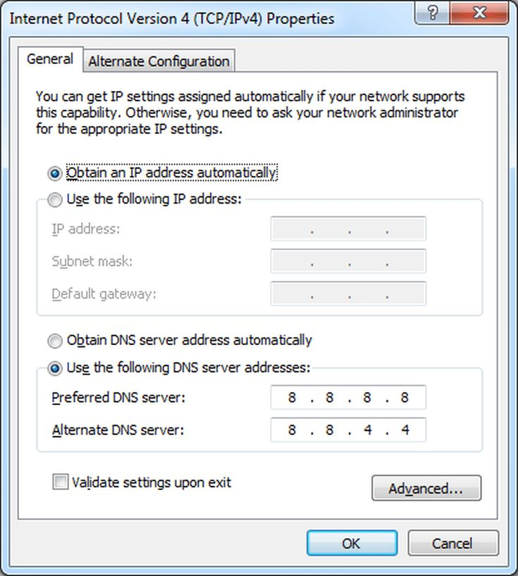 How To Change DNS Servers in Windows 7